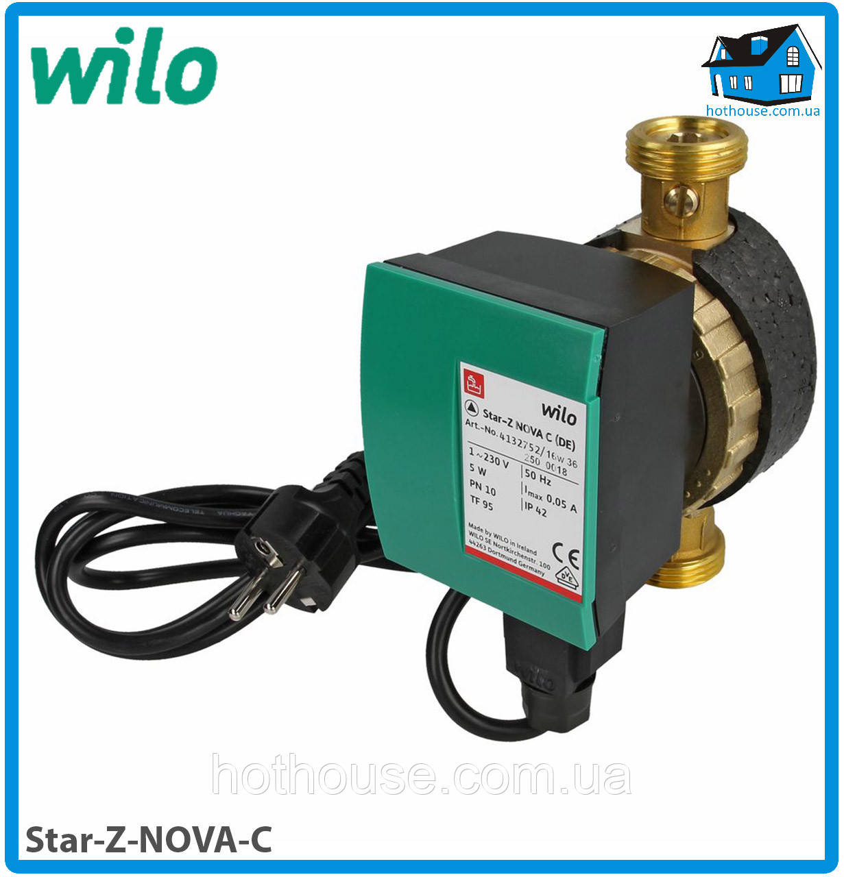 Насос циркуляционный Wilo Star-Z NOVA C (оригинал)