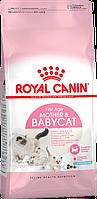 Сухий корм для котенят до 4 місяців MOTHER&BABYCAT 400 г, до 4  месяцев