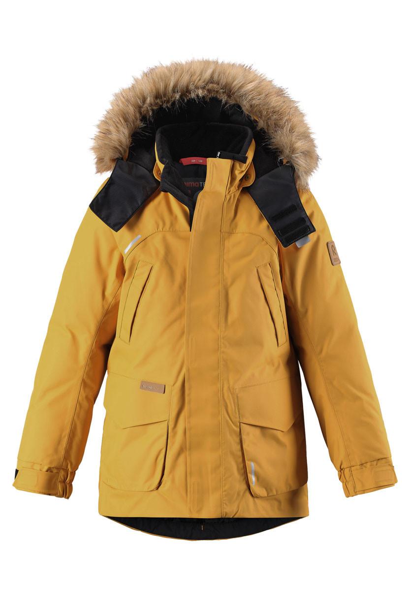 Зимняя куртка - пуховик для мальчиков Reimatec Serkku 531354-2510. Размеры 110-164. 110