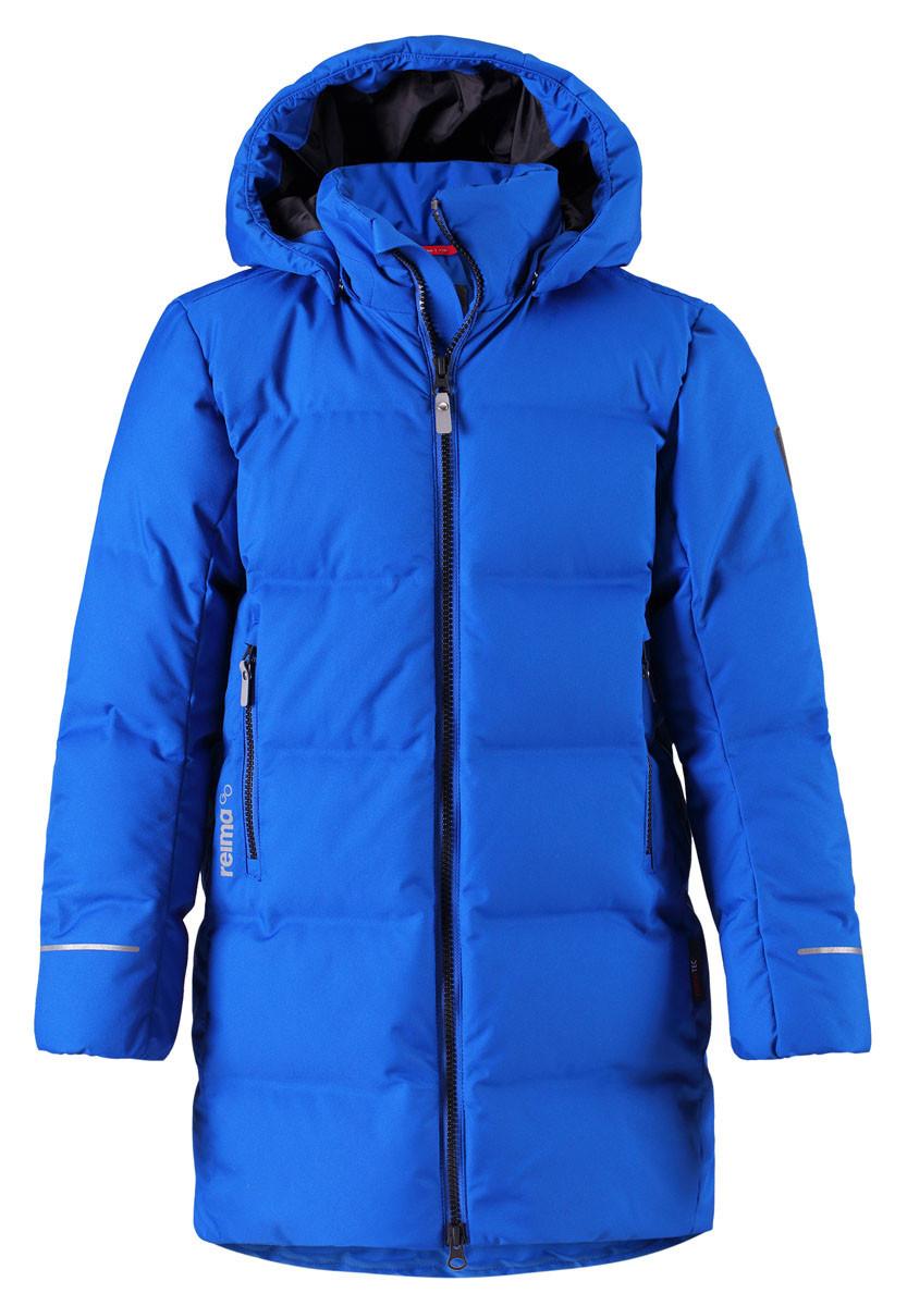 Зимняя куртка - пуховик для мальчиков Reimatec Wisdom 531353-6680. Размеры 116-164. 116