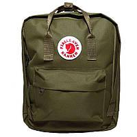 Комплект рюкзак, сумка + органайзер Fjallraven Kanken Classic, канкен класик. Хаки, haki, фото 1