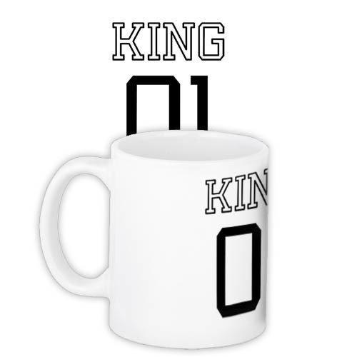 Кружка с принтом King 01 330 мл (KR_PAR014)