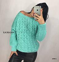 Жіночий теплий вовняний светр.Виробництво Туреччина.BG 1001, фото 1