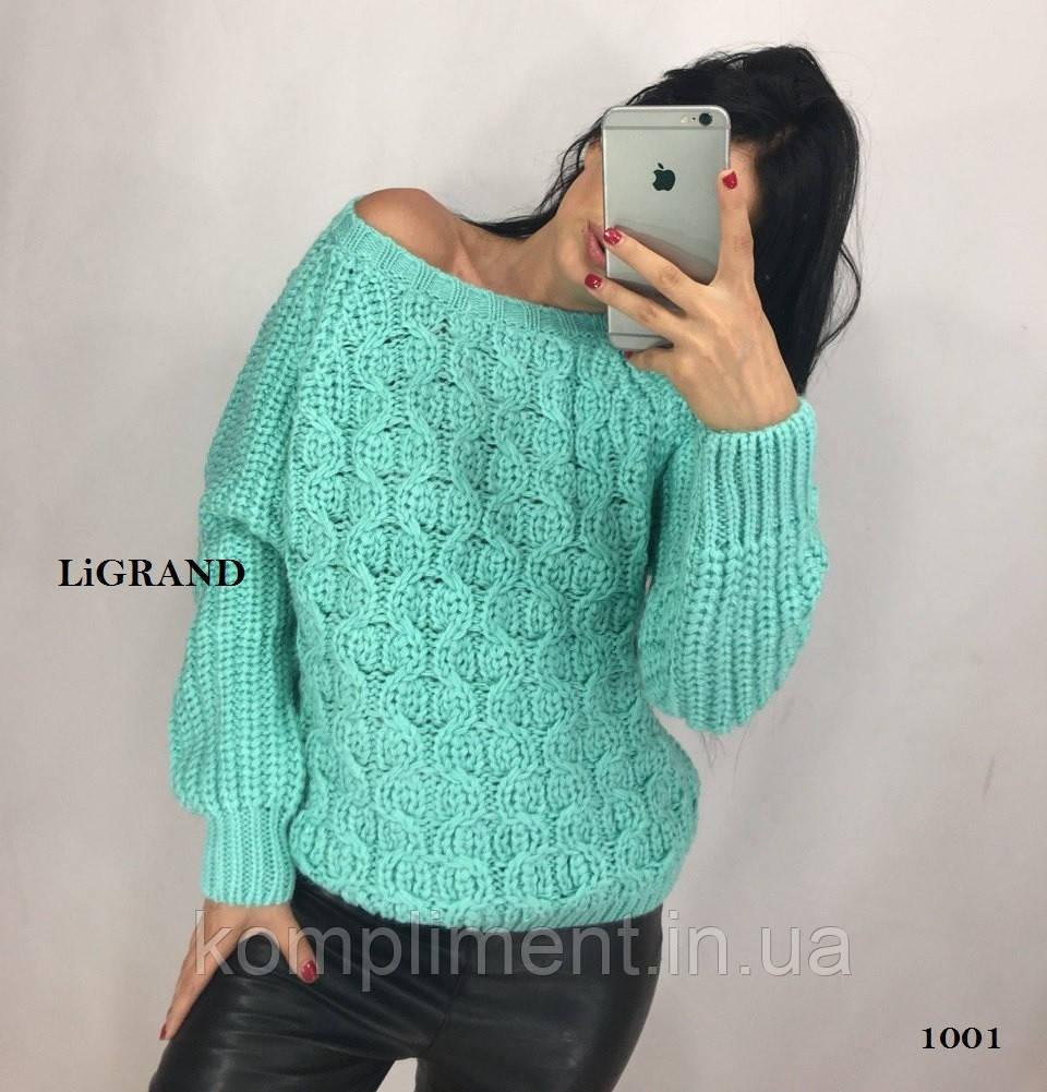 Жіночий теплий вовняний светр.Виробництво Туреччина.BG 1001