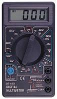 Цифровой тестер DT-832, Электрический мультиметр, амперметр, Тестер вольтметр, Измерение тока, напряжения, фото 1