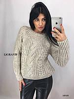 Женский теплый шерстяной свитер.Производство Турция.BG 1010, фото 1