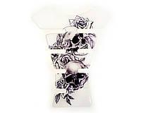 Наклейка на бак NB-1 Skull Roses VIP качество