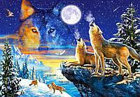 Пазл Сastorland на 1000 элементов Вой волков, фото 1