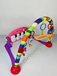 Развивающий коврик-пианино HE0603-HE0604, Розовый, фото 2
