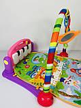 Развивающий коврик-пианино HE0603-HE0604, Розовый, фото 3