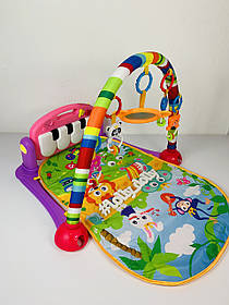 Развивающий коврик-пианино HE0603-HE0604, Розовый