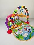 Развивающий коврик-пианино HE0603-HE0604, Розовый, фото 4