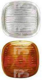 Указатель поворота на крыле Skoda Superb '02-08 левый/правый, желтый (DEPO)