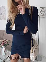 Женское платье с ассиметричным низом, фото 1