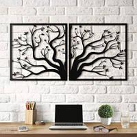 Картина из дерева Tree 50x100 T1001