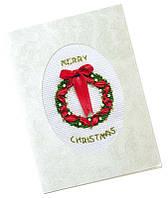 """Набор для вышивания """"Рождественский венок"""""""