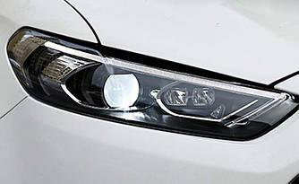 Передние фары Led оптика Ford Mondeo Mk5 / Fusion 13+ стиль 2017 ксенон