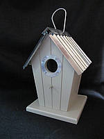 Скворечник декоративный с метал.крышкой ( в-21,5 см), 230\195 (цена за 1 шт. + 35 грн.), фото 1