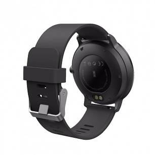 Смарт годинник з тонометром V11 Чорний, фото 2