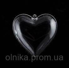 Форма пластиковая Сердце