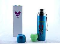 Термос YG-2, Детский термос 500ml, Термос для детей вакуумный, Пищевой детский термос, Термос зоотопия мультик