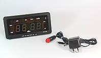 Часы CX 2158 green, Электронные часы, Настольные часы с подсветкой, Многофункциональные часы, Будильник, фото 1