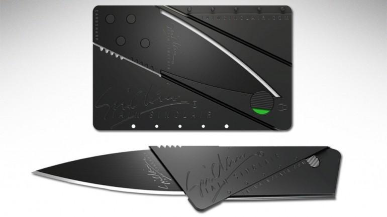 Нож Кредитка, Карта Cardshar, Раскладной Нож в виде Кредитки, Раскладной Нож Кредитка