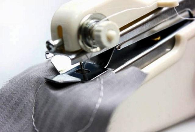 Ручная швейная машинка Handy stitch, Мини швейная машинка, Компактная швейная машинка