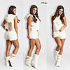 Домашний женский костюм с шортами 173 ерх, фото 3