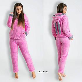 Домашний костюм пижамка ушками 073.1 ерх