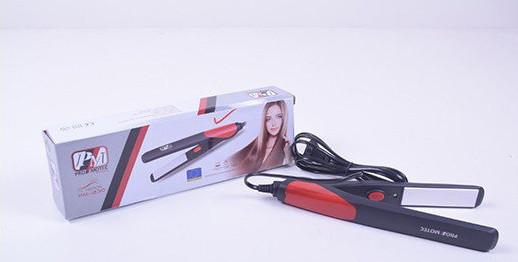 Плойка PROMOTEC PM 1230, Утюжок с керамическим покрытием, Плойка выпрямитель, Стайлер, Щипцы для волос