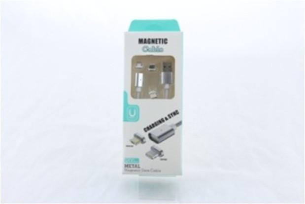 Шнур для мобильного magneti 3in1 micro\lightning\type-c магнитный, Магнитный кабель usb, Провод USB с магнитом