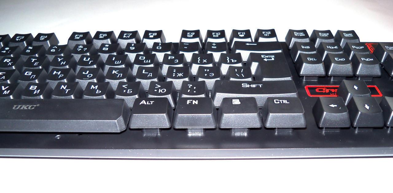 Клавиатура KEYBOARD HK-6500,БЕСПРОВОДНАЯ КЛАВИАТУРА + МЫШЬ, Набор клавиатуры и мыши для ПК, Игровая клавиатура