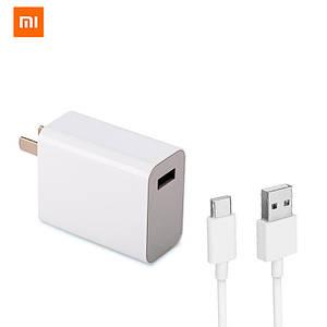 Универсальное сетевое зарядное устройство Xiaomi QC 4.0 Quick Charge 27W MDY-10-EH (Белое)
