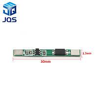 Защитная плата PCM линейная на x1 Li-Ion аккумулятор, 3A, фото 1