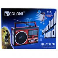 Радио RX 277 LED+LCD, Радиоприемник с Led фонариком, Портативная колонка, Радиоприемник с USB, фото 1