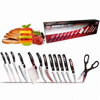 Набор ножей Mibacle Blade 13in1, Набор кухонных ножей, Чудо-ножи Мирэкл Блэйд, Прочные острые ножи, фото 1