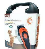 Машинка для стрижки домашних животных HTC CT-399, машинка триммер для стрижки кошек и собак