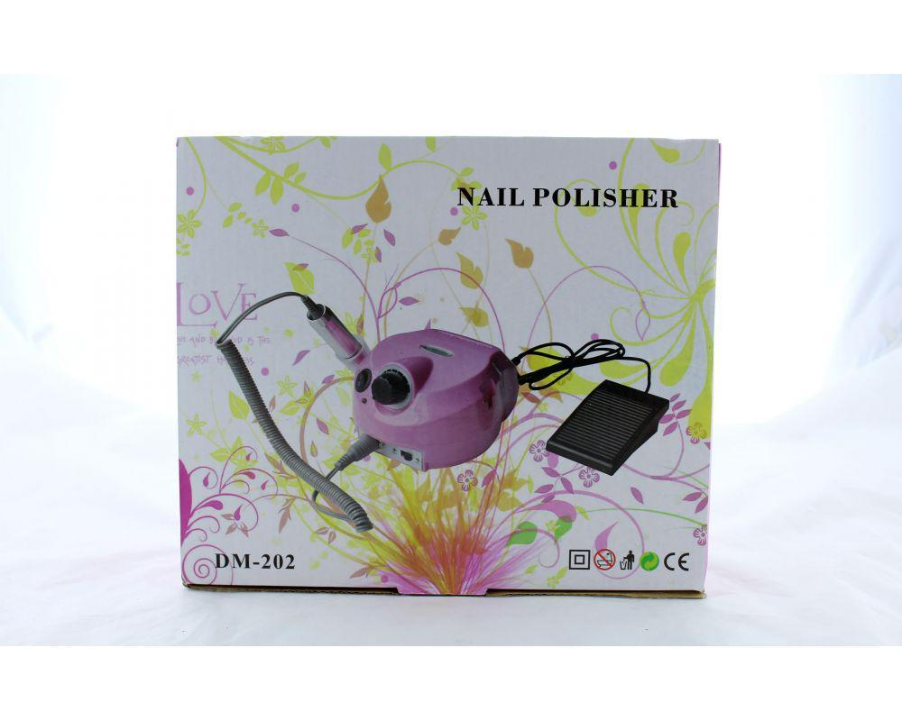 Машинка для педикюра Beauty nail 202, Фрезер для аппаратного маникюра, Профессиональный фрезер для маникюра, фото 1