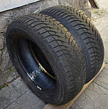Шини б/у 185/60 R14 Michelin Alpin, ЗИМА, 6.7 мм, пара, фото 4