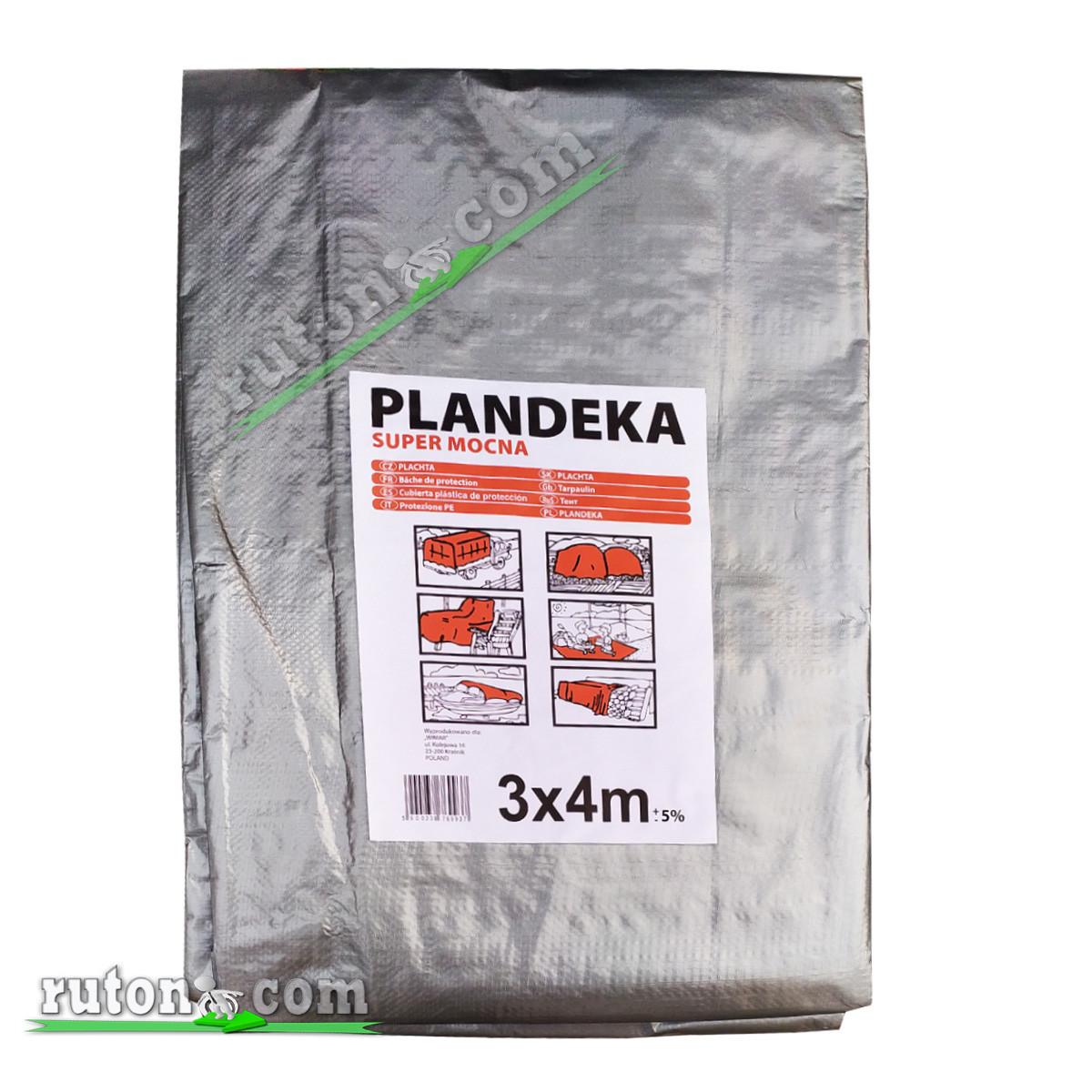 """Польський Тент, брезент 2х3м від сонця, дощу і снігу """"Plandeka"""" 160g\m2 Посилені люверси"""