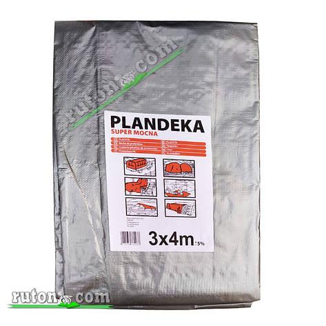 """Польский Тент, брезент 3х4м от солнца дождя и снега """"Plandeka"""" 180g\m2  Усиленные люверсы, фото 2"""