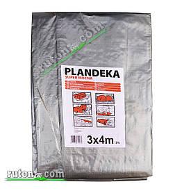 """Польський Тент, брезент 3х4м від сонця, дощу і снігу """"Plandeka"""" 180g\m2 Посилені люверси"""