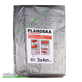 """Польский Тент, брезент 4х5м от солнца дождя и снега """"Plandeka"""" 180g\m2  Усиленные люверсы"""