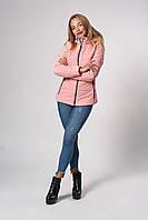 Женская демисезонная куртка. Код модели К-145-37-20. Цвет персик.