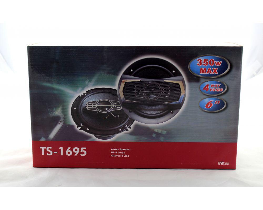 Автоколонки TS 1695, Коаксиальная АС, Автомобильная аккустика, Колонки в авто, Динамики 16 см в машину
