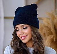 Стильная шапка с милыми  ушками