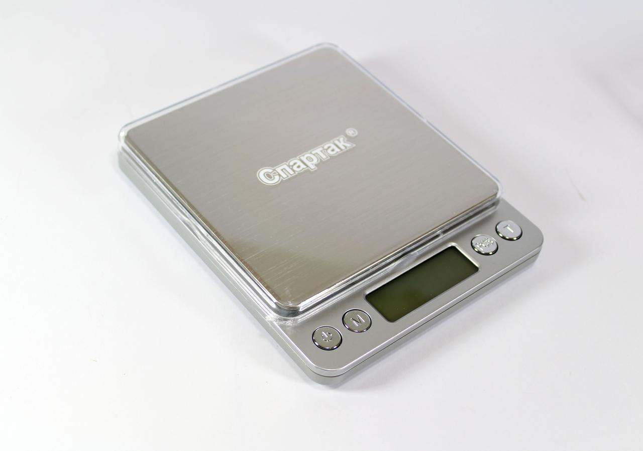 Весы 3000gr/0.1gr BIG 12000/1729, Компактные ювелирные весы, Электронные весы, Точные весы аптечные