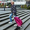 Сумка-тележка ShoppingCruiser Stairs Climber 40 Fuchsia, фото 5