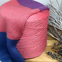 Бобинная пряжа меринос с шелком Zegna Baruffa art. Wooster 1400м цвет Babol розовый
